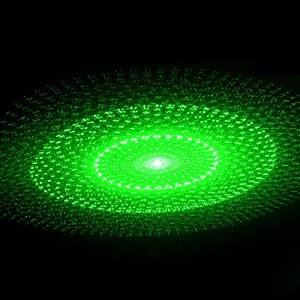 Sizet USB Star Projection Laser 4 Modes Car Interior Roof Light Party Atmosphere Lamp 3 Color Ceiling Decoration Lighting (Color: Green)