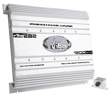 Lanzar VIBE232 Vibe Amplificateur de voiture à Mosfet 2 canaux 2000 W