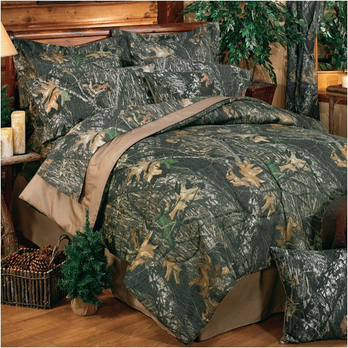 Full Size Camo Bedding 4577 front