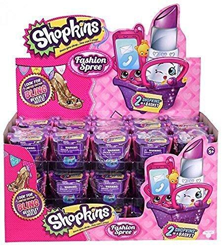 Shopkins Season 4 Fashion Spree 2-Pack Blind Baskets FULL CASE - 30 baskets