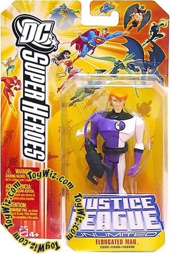 Buy Low Price Mattel DC Superheroes Justice League Unlimited Elongated Man Action Figure (B000N0T49K)