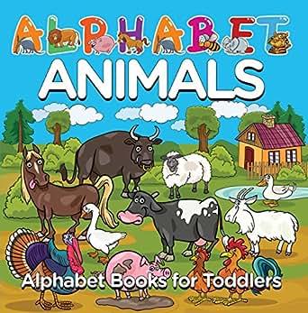 Amazon.com: Alphabet Animals: Alphabet Books for Toddlers: Phonics for