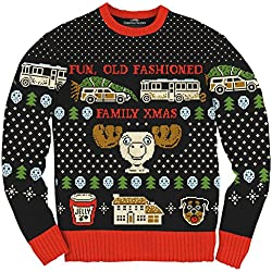 fd6f6b93f Christmas Vacation Fun Old Fashioned Family Xmas Ugly Christmas Sweater
