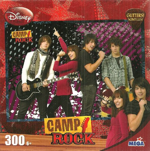 Disney Camp Rock Camp It Up 300 Piece Jigsaw Puzzle