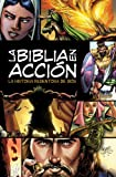 img - for la Biblia en acci n, The Action Bible (Spanish Edition) book / textbook / text book
