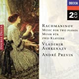 Suite no.1 for Two Pianos in G minor op.5 Rachmaninoff