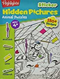 Highlights(TM) Sticker Hidden Pictures Animal Puzzles