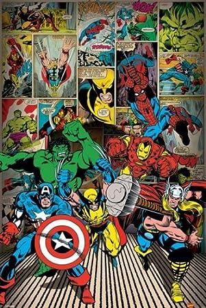 Marvel comics decor tktb - Marvel comics decor ...