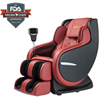 Ultimate LM-8800S Best 3D Kahuna Massage Chair (Red / Black)