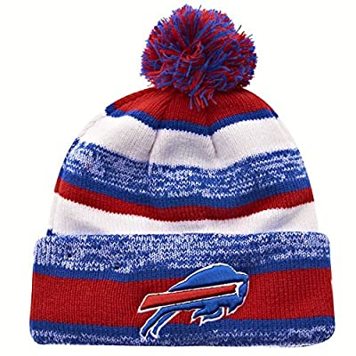 New Era On field Sport Knit Buffalo Bills Game Hat Red/White/Blue Size One Size
