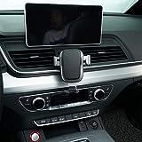 Bwen Fit for 2018 2019 Audi Q5 Wireless Car Mount Phone Holder,Cell Phone Holder Air Vent Holder Fit for iPhone,Samsung Galaxy,Google,LG,Huawei,LG,Sony,Nokia,All Smartphone 4