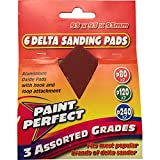 Paint Perfect Assorted Delta Sanding Pads Pack of 6