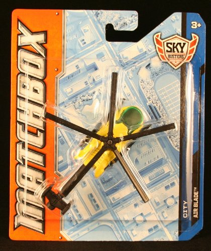 Air Blade * Mbx City * Die-Cast 2012 Matchbox Sky Busters Series Helicopter front-743213