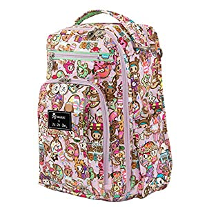 Ju-Ju-Be Be Right Back Backpack Diaper Bag,Tokidoki Donutella Sweet Shop from Ju-Ju-Be