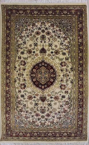 6'5 X 9'11 Double Knot Ziegler Chobi Design Area Rug With Wool Pile -   A 6X10 Large Rug   An Authentic Hand Knotted Chobi Ziegler Rug Made With Vegetable Dyes