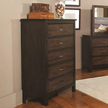 Tall Chest of Drawers with Felt Lined Top Drawer by Generations by Coaster