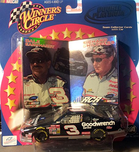 Winner's Circle - Dale Earnhardt #3 -Team Collector Cards with Car