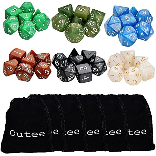 6-x-7-42-Pieces-Polyhedral-Dice-6-Color-Dungeons-and-Dragons-DND-MTG-RPG-D20-D12-D10-D8-D6-D4-Game-Dice-Set