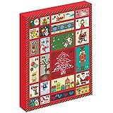 Weihnachtsgeschenke für Kinder-MARENJA Weihnachten-Adventskalender Schmuck Geschenkpaket Weihnachtskalender