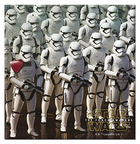 Star Wars 7, Lot de 20serviettes en papier