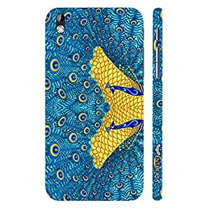 HTC Desire 816 The Peacock's Reflection designer mobile hard shell case by Enthopia