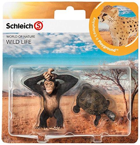 Schleich 21040 - Wild Life Babies, Wildtiere Spielset - Set 5