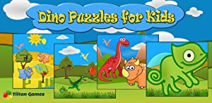Dino Puzzle Free: Kids Games - Jigsaw puzzles for toddler, boys and girls - Tiltan Preschool Learning Games by Tiltan Games