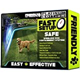 Friendly Pet Products Wireless Dog Fence with Radio and Wi-Fi Transmitter