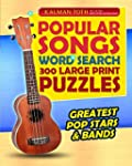Popular Songs Word Search 300 Large P...