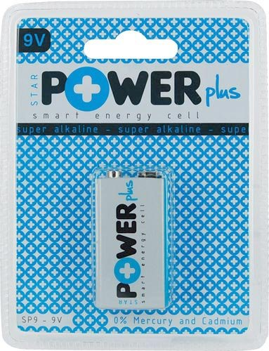 Starpowerplus-Blister 1 Pile alcaline (SP 9-9 V) power plus Volt 9 6lr61 lr 09