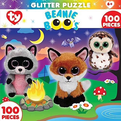 MasterPieces Beanie Boo Glitter Campfire Club Puzzle (100 Piece)