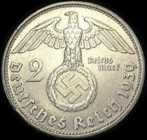 German Silver Coin - Paul von Hindenburg Commemorative Coin