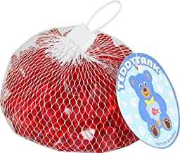 Teddy Tank Toy Accessories with Red Acrylic Diamond Shaped Stones, 8.8-Ounce