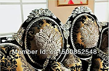 Luxury Antique European Chenille Jacquard Sofa Group