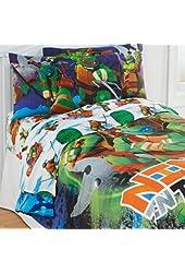 TMNT Ninja Turtles Training 3pc Twin Bed Sheet Set