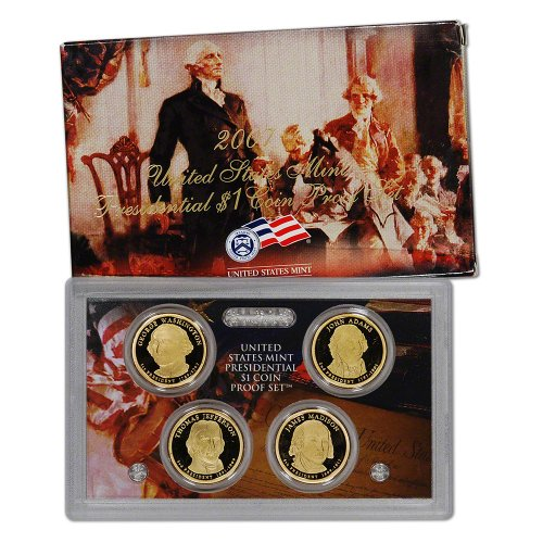 2007 Us Mint Presidential Coin Proof Set