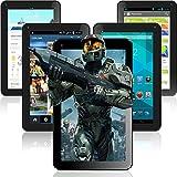 """Time2® - Tablette 7"""" pouces à écran tactile - Android 4.4 Kitkat Bluetooth - Allwinner A23 1.2 GHz Dual Core - 8 Go de stockage Wifi"""
