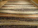 New Large Rug Modern Black Orange Yellow Rug 8x11 Rug Area Rugs Set 5x8 Cream Black Contemporary Floor Carpet Multisizes Rug (Medium 5x8)