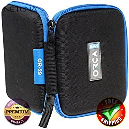Pouch for Capsules & Audio Accessories With Free 3 Feet NETCNA HDMI Cable - BY NETCNA