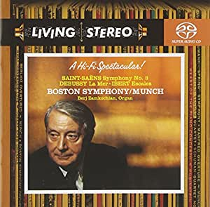 Saint-Saens: Symphony No. 3; Debussy: La Mer; Ibert: Escales