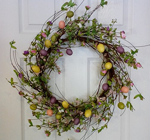 Spring Is Coming Easter Wreath