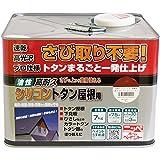 ニッペ 油性塗料 高耐久シリコントタン屋根用赤さび 7kg