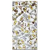 【ディズニー】 くまのプーさん ウィニーザプー デイリー バスタオル (縦60×横120cm) BE470000
