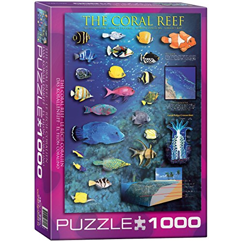 EuroGraphics Coral Reef 1000 Piece Puzzle