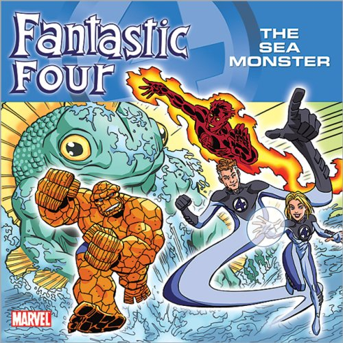 Fantastic Four : The Sea Monster, BRENT SUDDUTH, MANGAWORX (ILT)