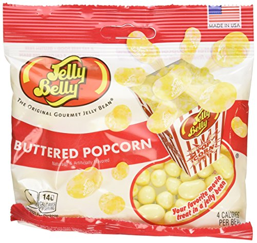 Buttered Popcorn Jelly Beans - 3.5 oz Bag - 3 Pack (Jellybelly Popcorn compare prices)
