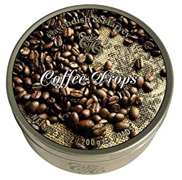 Cavendish & Harvey Coffee Drops 200g QUALITY BRITISH FOOD 0102