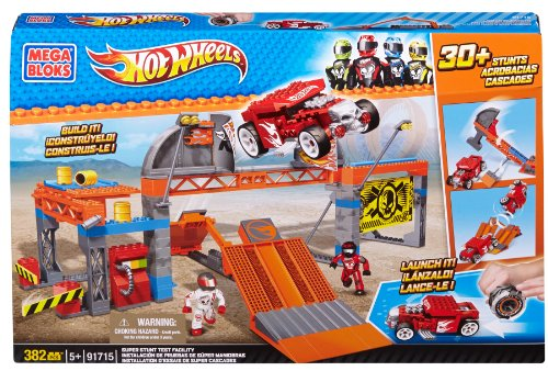 Mega Bloks 91715 - Hot Wheels - Test Facility