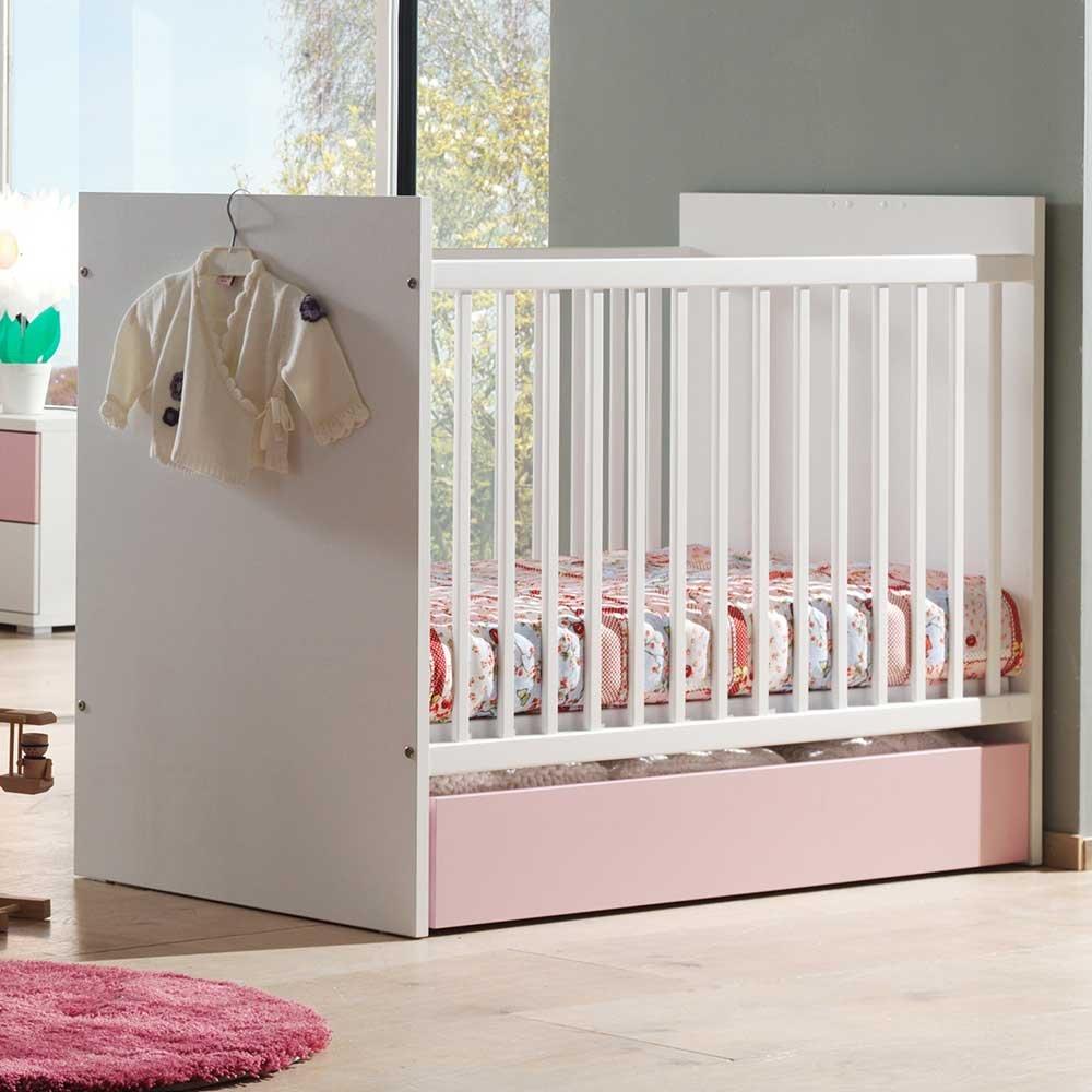 Gitterbett für Baby Schublade (2-teilig) Pharao24