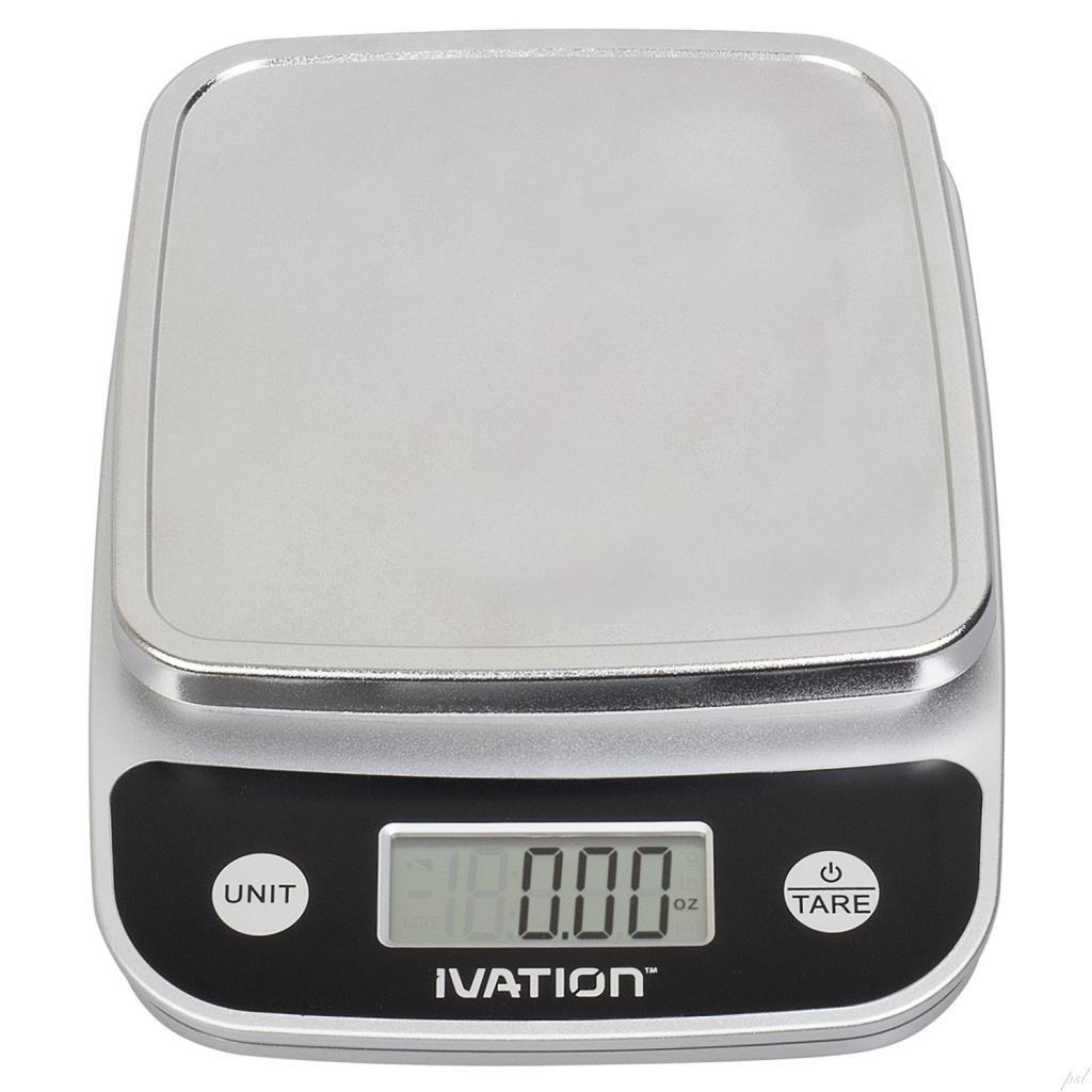 Best Digital Kitchen Scale: Ivation Lightweight Digital Kitchen Food Scale